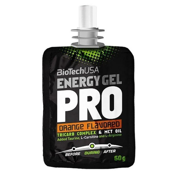 BioTech Energy Gel Professional 24x 60g Orange
